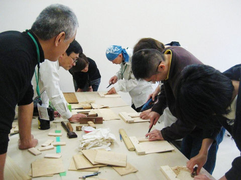 NPO法人まどり 木工教室